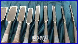 10 Pcs Set Oire Japanese Woodworking Carpentry Tool Chisel Nomi From Japan