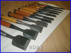 11 Chisel Oire Nomi Set Mitsuhiro Yoshihiro Professional Tool Japanese Carpenter