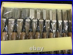 Japanese Carpenter Tool Oire Nomi 10 Chisels Set Luxury Suketomi Professional FS