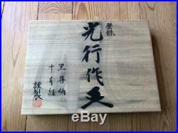 Japanese Carpenter Tool Oire Nomi 10 Wood Chisel Set Mitsuyuki Ebony WithBox WithTRK