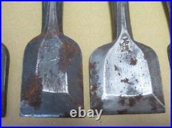 Japanese Carpenter Tool Oire Nomi 7 Wood Chisels Set Vintage Sekiryu WithTracking
