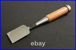 Japanese Carpenter Tool Oire Nomi Chisel Houichi 42mm Red Oak Woodworking WithTRK