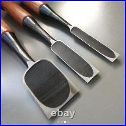 Japanese Carpenter Tool Oire Nomi Chisels 3 set Hon Kikuyoshi