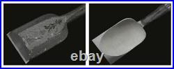 Japanese Carpenter Tool Oire Nomi Damascus Chisel Ioroi 30mm Ebony Professional