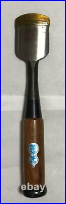 Japanese Carpenter Tool Oire Nomi Half Round Chisel Moto-Nagakuni 42mm Red Oak
