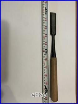 Japanese Carpenter Tool Oire Nomi Long Chisel Vintage Kiyohisa 24mm Woodworking