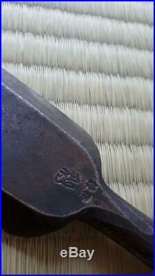 Japanese Carpenter Tool Oire Nomi Long Wood Chisel Kitsune Fox Vintage 42mm TRK