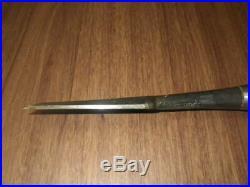 Japanese Carpenter Tool Oire Nomi Wood Chisel Keiju 36mm Keizaburo Nagaoke WithTRK