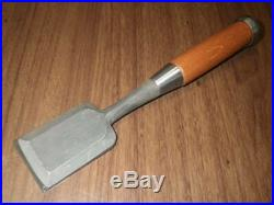 Japanese Carpenter Tool Oire Nomi Wood Chisel Kiyohisa 42mm Sanjo Kaneei WithTRK
