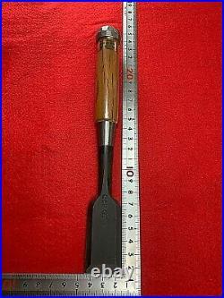 Japanese Carpenter Tool chisel oire nomi Akio Tasai 30mm
