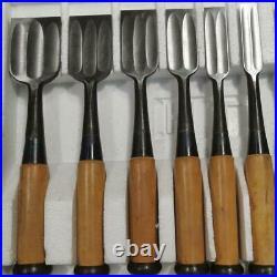 Japanese Chisel Oire Nomi Carpenter Tool Mitsuura 10 pcs set Masaichi Woodwork