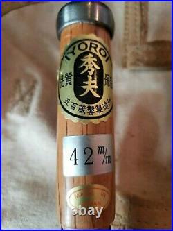 Japanese Oire Nomi Chisel 42 36 30 24 21 18 15 12 9 6 3 1.5 mm IYOROI Set