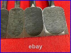 Japanese chisel oire nomi Set 10pcs Musouken White steel#2 Carpenter Tool