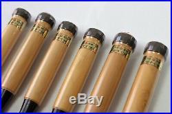 Japanese chisels handmade by AKIO TASAI set of 6 individual chisels