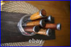 Japanese chisels vintage, signed, hand forged