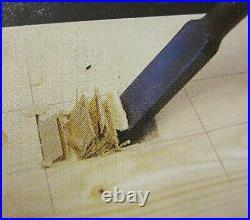 Kakuri Oire Nomi set of 3 Japanese chisel 9mm/15mm/24mm withTracking# Japan New