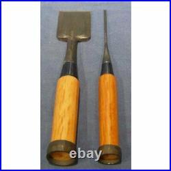 Nijihiro 10 Pcs Set Oire Japanese Vintage Carpentry Tool Chisel Nomi Box Unused