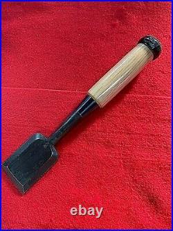 Rare! Japanese chisel best sharp Oire nomi 30mm 1.18in Watanabe Kiyoei(Kiyohisa)