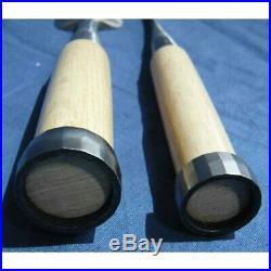 Sukemaru 10 Pcs Set Oire Japanese Vintage Carpentry Tool Chisel Nomi Box Unused